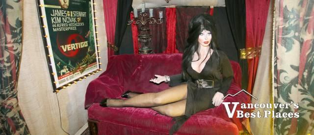 Elvira at Brinkworth Dungeon
