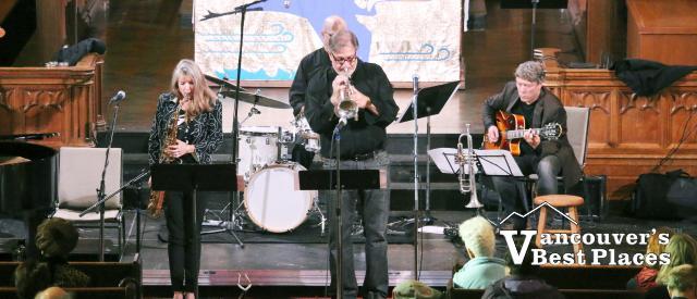 Jamie Croil & Karen Graves at Jazz Vespers