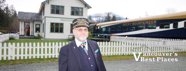 Train Conductor at West Coast Railway Museum