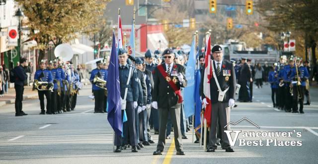 West Van Veterans on Parade