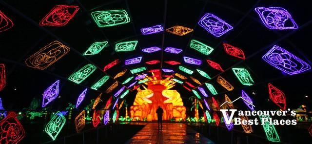 Art of Lights Lantern Tunnel