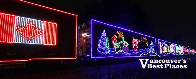 CP Holiday Train at Christmas