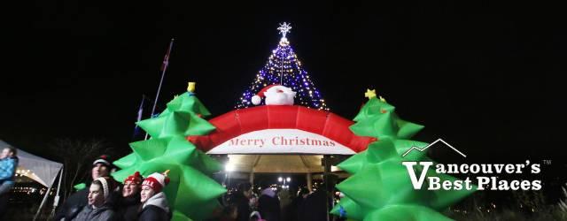 Holiday Cheer at the Pier