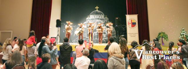 Colombian Christmas Fiesta at Burnaby Hall