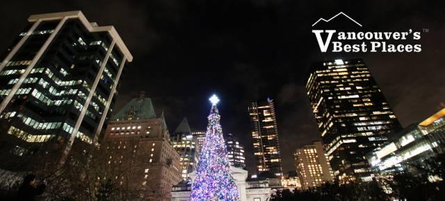Christmas at Robson Square