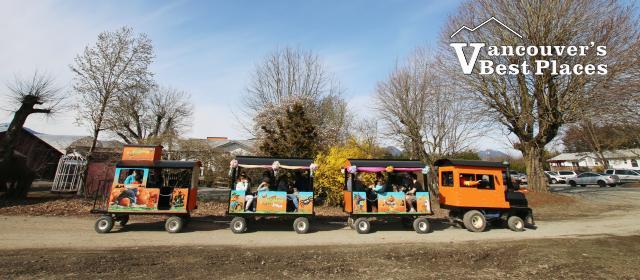 Easter Train at Fantasy Farms