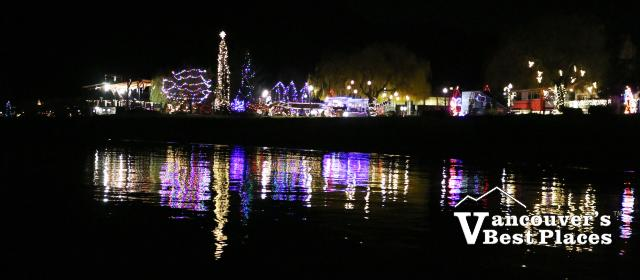 Harrison Christmas Light Reflections