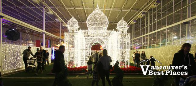 India's Taj Mahal at Glow Christmas