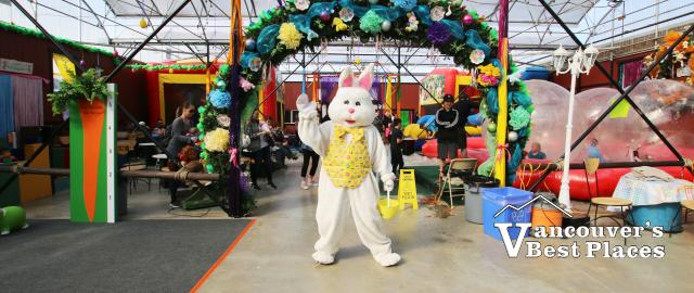 Petey's Eggstravaganza Easter Bunny