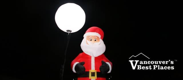 Santa Decoration in Port Moody