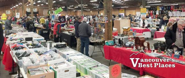 Abbotsford Flea Market Indoor Vendor Area