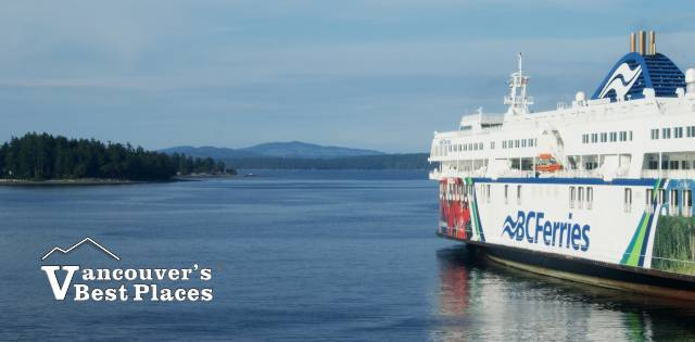 BC Ferry Docked at Tsawwassen