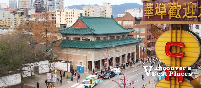 Chinatown and Chinese Cultural Centre