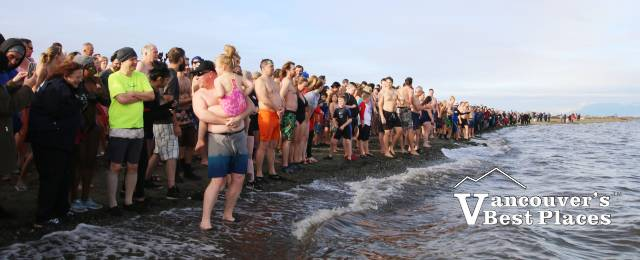 Delta Polar Bear Swim Participants