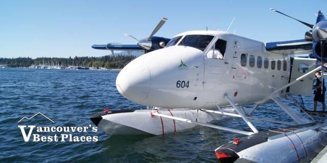 Harbour Air Seaplane at Dock