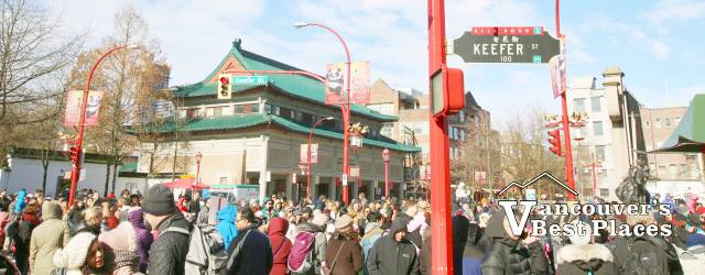 Keefer Street at Chinese New Year