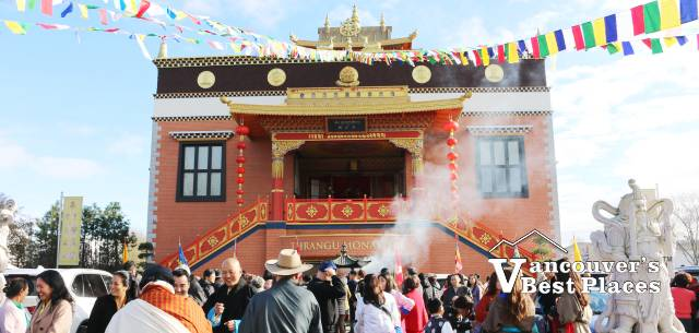 Monastery at Tibetan New Year