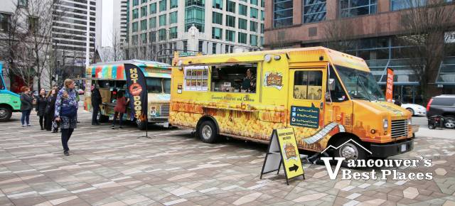Street Food City in Downtown Vancouver