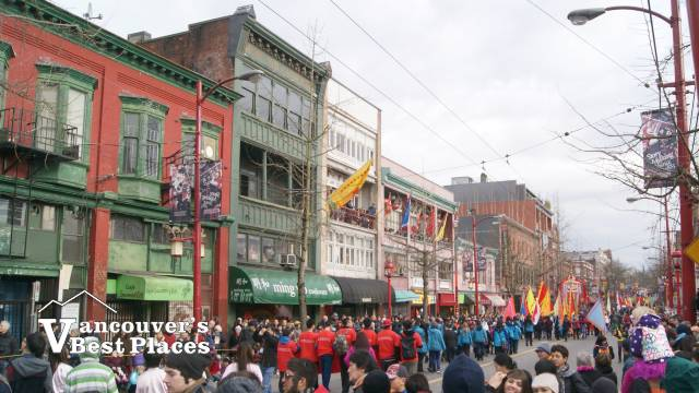 Vancouver's Chinatown Parade