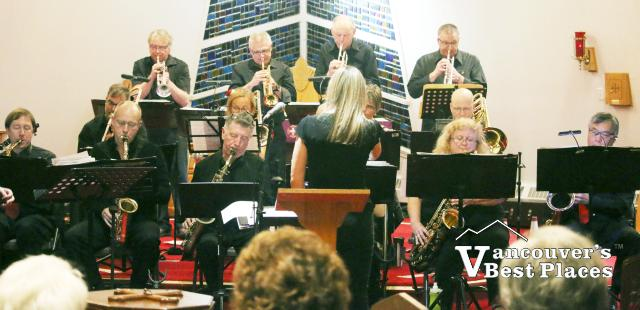Mighty Fraser Big Band at St. Stephen's