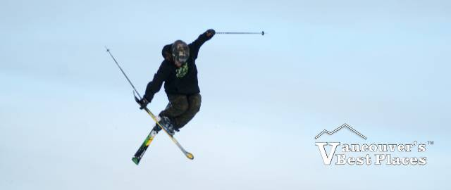 Skier Getting Air