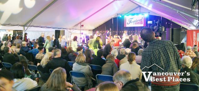 Festival du Bois Tent Venue