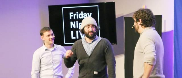 Off Key Improv at Friday Night Live