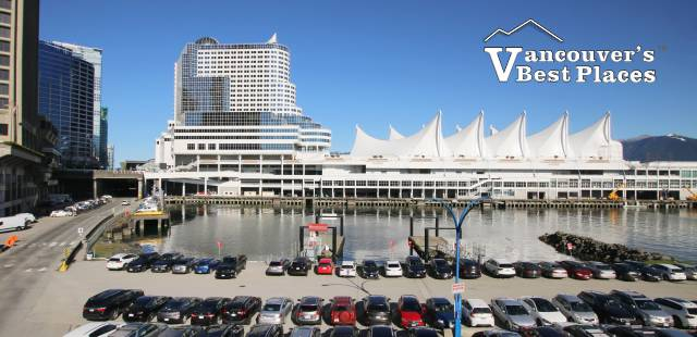 Canada Place and Pan Pacific Hotel