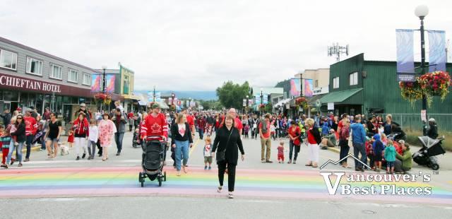 Canada Day in Squamish