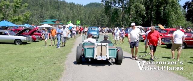 Old Car Sunday at Fraser River Heritage Park