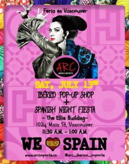 Spanish Feria en Vancouver Poster
