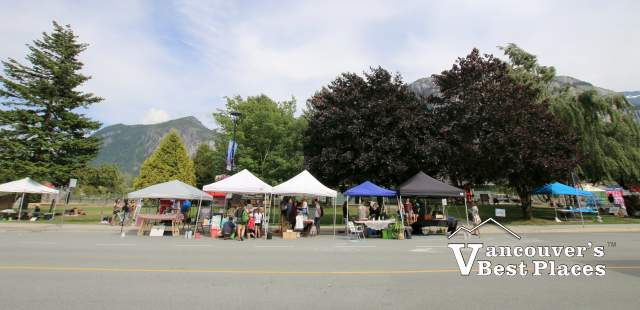 Squamish Street Market on Cleveland Avenue