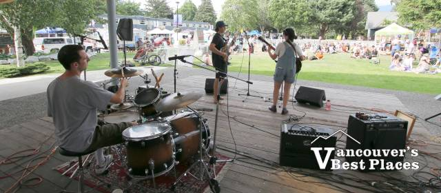 Live Music in Junction Park