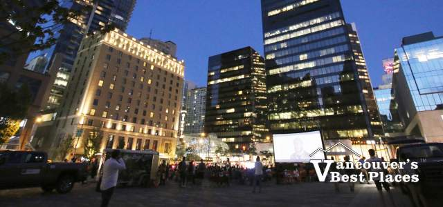 Vancouver Art Gallery Outdoor Movies