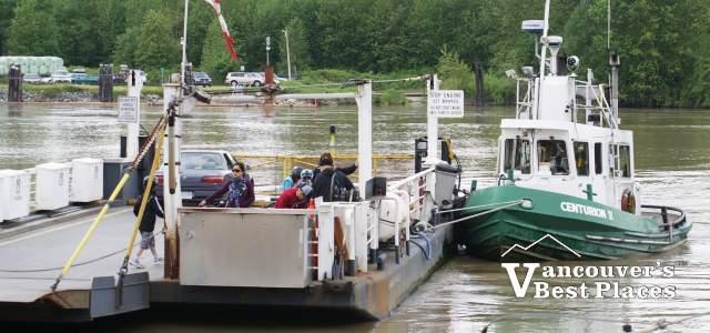 Barnston Island Barge
