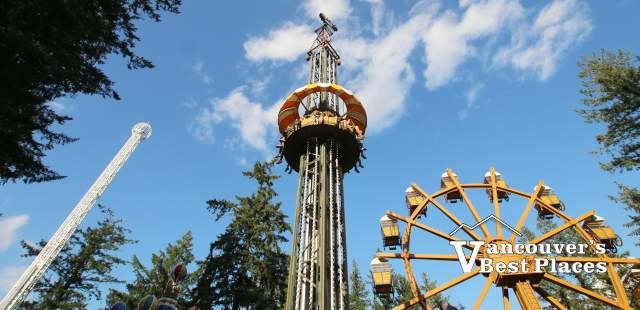 Cultus Lake Adventure Park Rides