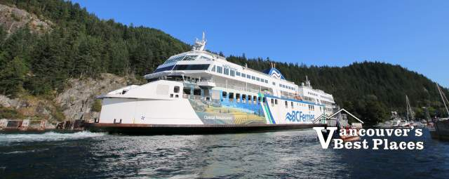 BC Ferry at Horseshoe Bay