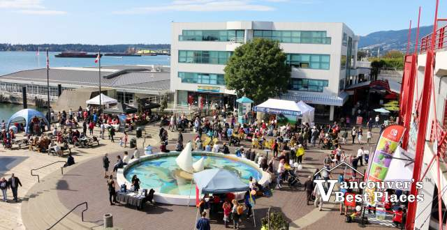 Lonsdale Quay Plaza at Shipyards Festival