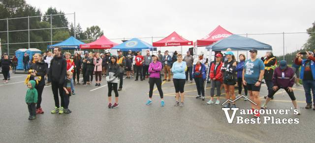 Terry Fox Run in North Vancouver