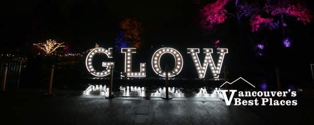 Glow in the Garden Light Display