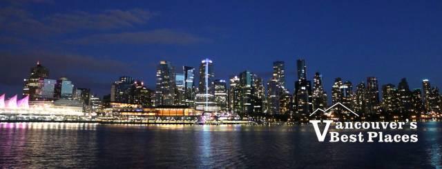 Vancouver Nighttime Skyline
