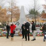 Cenotaph at Spirit Square in Pitt Meadows