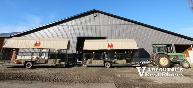 Eagle Acres Farm Tractor and Wagon