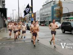 Movember Undie Run in Vancouver