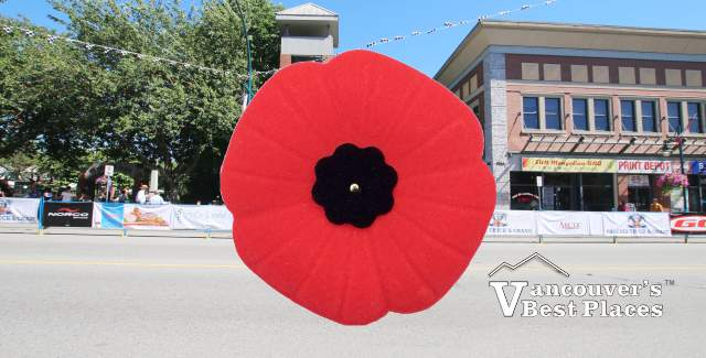 Remembrance Day in Port Coquitlam