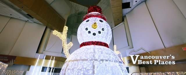 Glow Vancouver Snowman