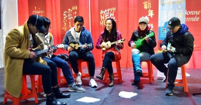 Musicians at Lunarfest Vancouver
