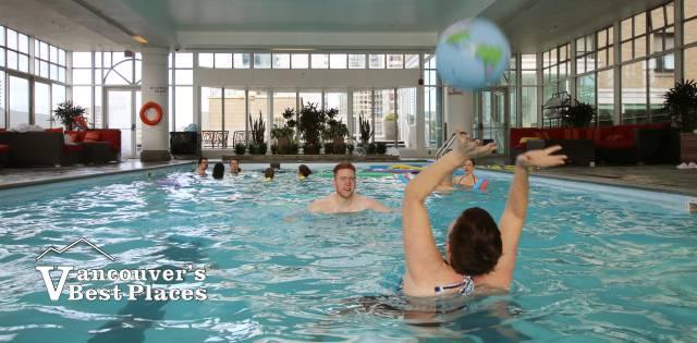Fairmont Vancouver Hotel Pool