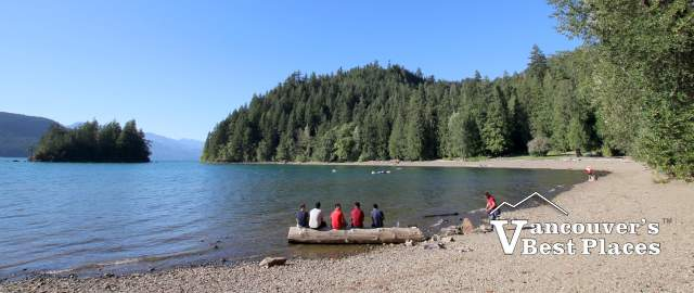 Harrison Lake at Sasquatch Park