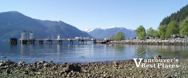 Dock and Beach at Porteau Cove